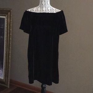 LOFT VELVET DRESS